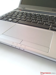 We were also satisfied with the touchpad's functionality.