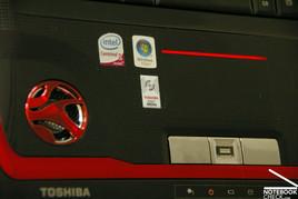 Toshiba Qosmio X300 Touchpad