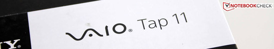 Sony Vaio Tap 11 SVT-1121G4E/B: Can the slimmest also be the best?