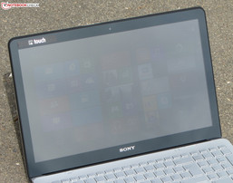The Vaio outdoors