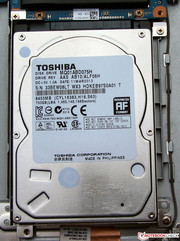 It would be possible to easily replace the hard drive.