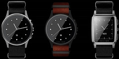 Vector Luna and Vector Meridian limited edition water resistant smartwatches with 30 days battery life
