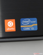 Our test device was delivered with Ubuntu Linux.