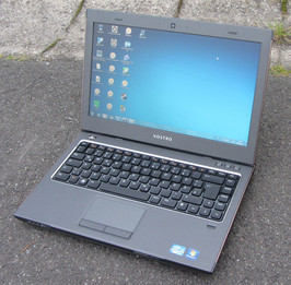 Dell's Vostro 3460 outdoors
