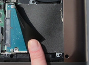 It would be easy to replace the hard disk.