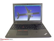 The Lenovo ThinkPad W550s complements the workstation W541...