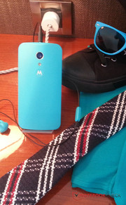 Motorola launched the Moto G at a special press event.