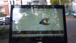 ASUS Transformer Flip TP300L outdoor screen usage
