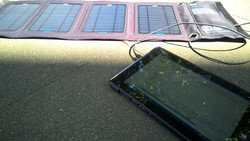 Solar charging the Dell Venue 10 Pro