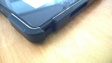 Port access with protective case