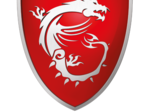 The new MSI emblem with the dragon logo