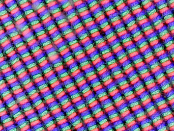 Standard RGB subpixel array