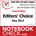 Award Dell XPS 18