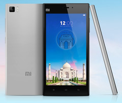 Xiaomi Mi 3 Android smartphone, a model very popular in India