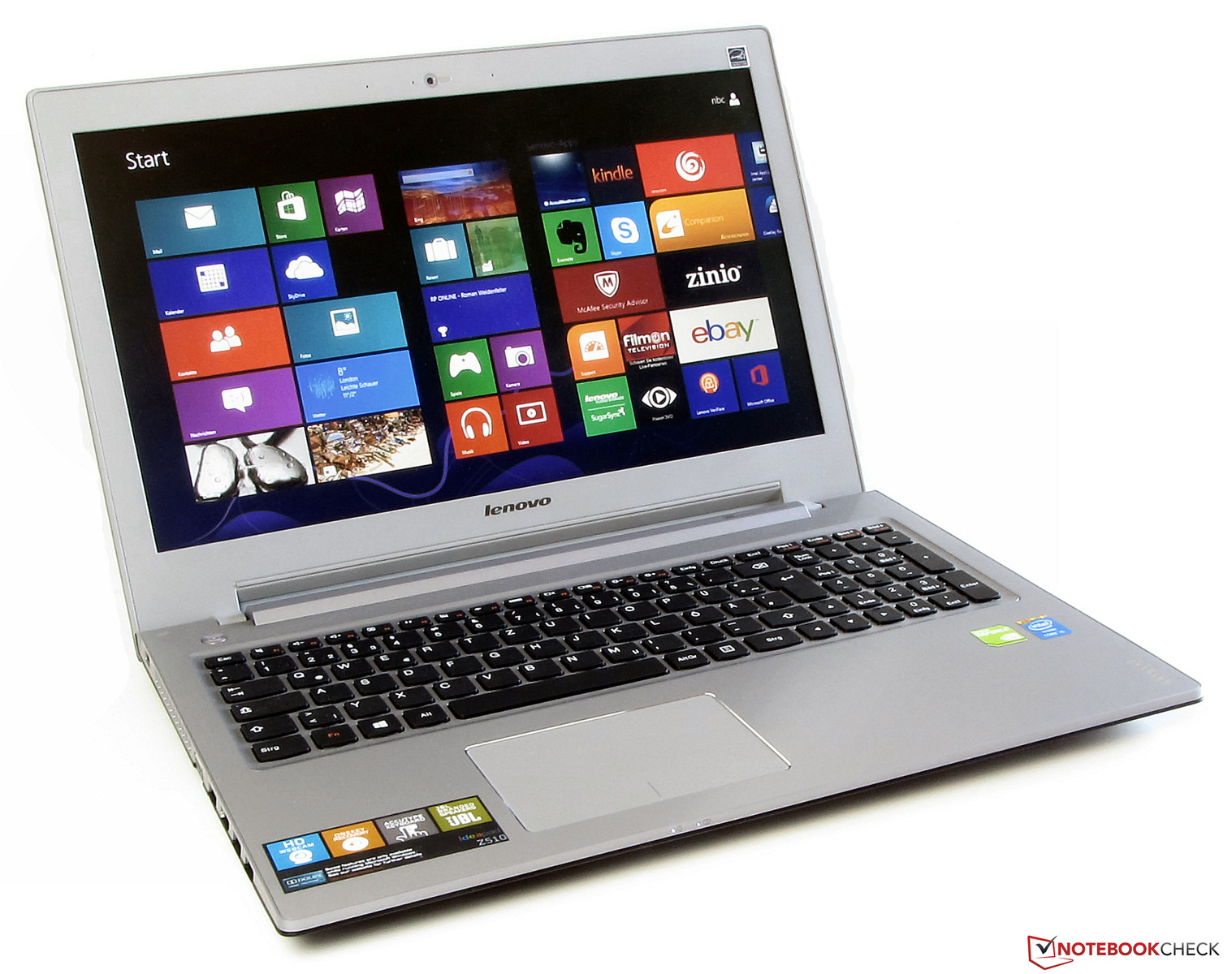 "Lenovo z510 laptop | 15. 6"" multimedia notebook pc 
