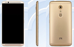 ZTE A2017/Axon 2 Android smartphone hits TENAA
