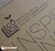 Eco-friendly packaging.