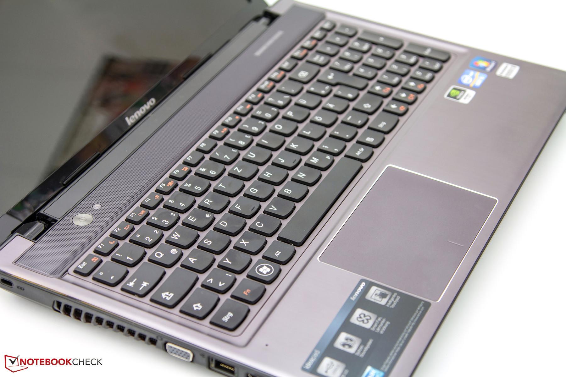 Review Lenovo Ideapad Z580 Notebook Notebookcheck Net Reviews