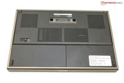 The base plate functions as a large maintenance panel.