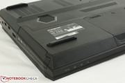 Optical drive can be removed or configured with an HDD