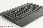 Keyboard dock is 1.0 cm thick and also about 600 grams