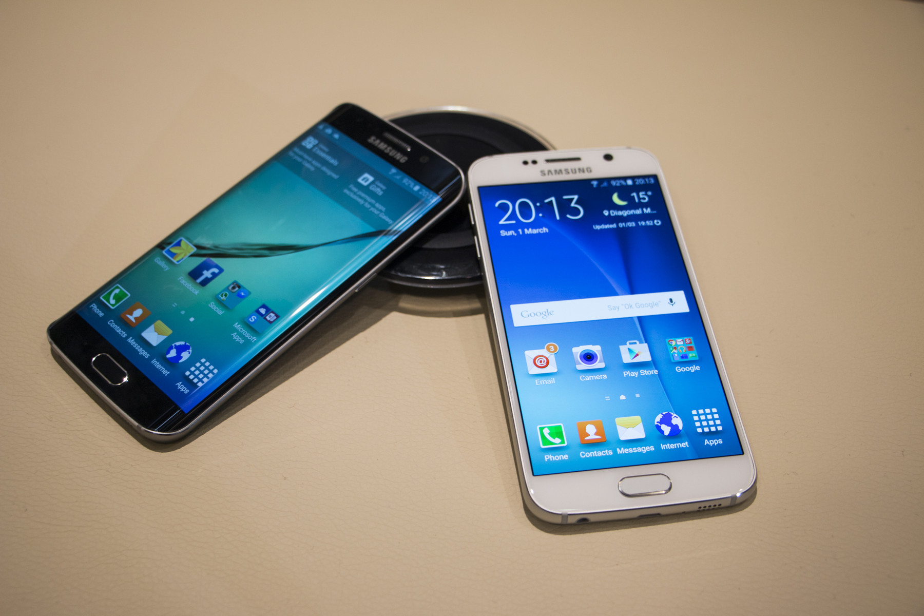Samsung unveils Galaxy S6 and S6 Edge smartphones - NotebookCheck