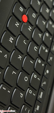 AccuType keyboard with adequate travel and feedback