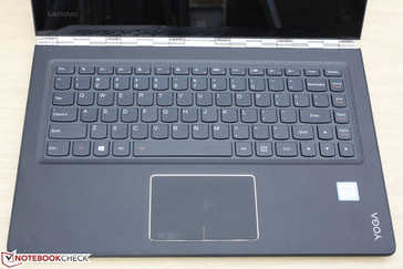 Extra row of keys compared to Yoga 3 Pro