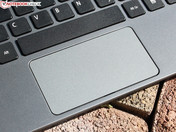 Touchpad with separate buttons (Click-Pad)