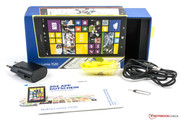 Box with accessories.