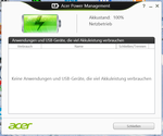 Acer Power Manager