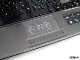 Acer Aspire 4810T touch pad