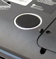 Furthermore, there is a sub-woofer at the Aspire 5930G bottom side, which provides impressive sound.