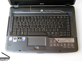 Acer Aspire 5930G Keyboard and Touchpad