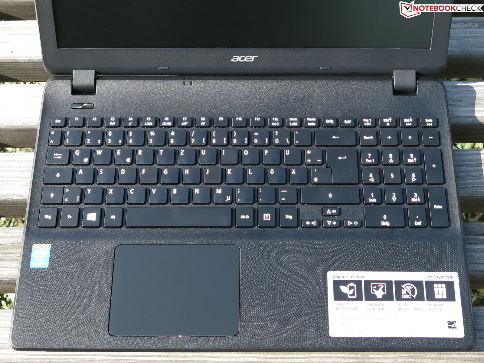 Acer aspire e15 start es1 512 p1sm notebook review notebookcheck net