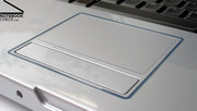 Although the touch pad gets points for it's look, it is seriously lacking in comfort.