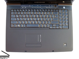 Alienware M17 Keyboard
