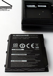 Test Alienware Area-51 m17x Notebook - NotebookCheck net Reviews