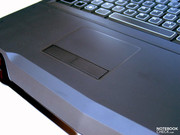 The touchpad is rather more a stopgap, and doesn't always respond optimally.