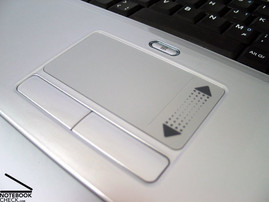 Alienware S-4 m5550 Touch pad