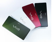 Sony expands its Vaio series with a new model, the VGN-P11Z, which is available in four different colors.