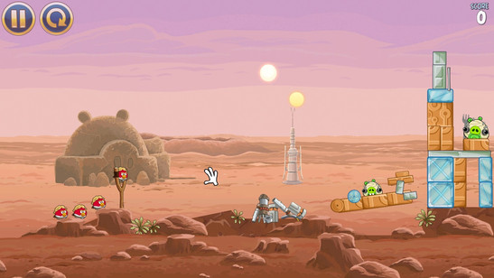 Only casual games such as Angry Birds: Star Wars run smoothly on the device.