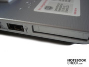 USB 2.0 and ExpressCard slot on the left
