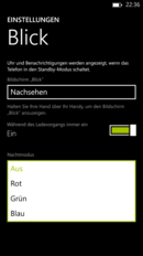 The screen's brightness is dimmed in night mode.