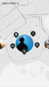 Pictures can thus be searched for on a map.