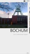 Albums are automatically labeled according to the location, but can be renamed.