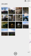 Pictures in one album.