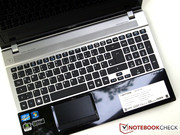 ...and the keyboard (photo from the structurally identical predecessor model).