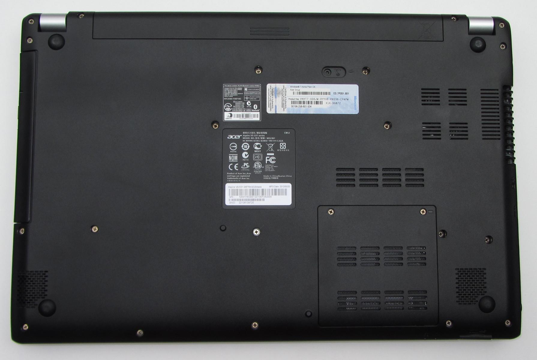 Review Acer Aspire V5 531 Notebook