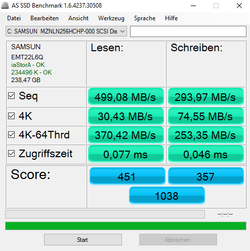 AS-SSD benchmark